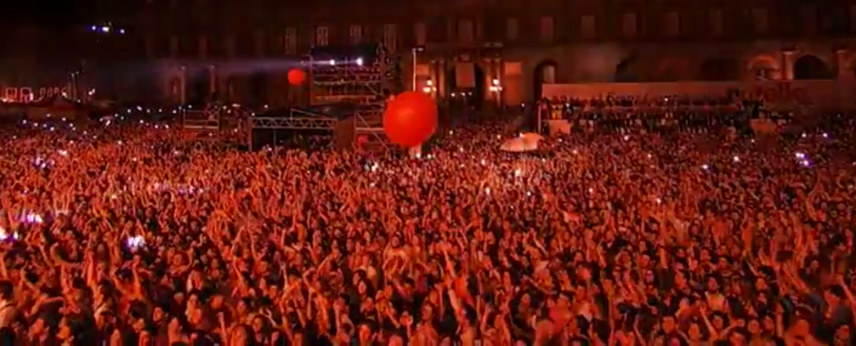 131 - Napoli, Festa per i 50 anni Della Nutella, SOLE, NUTELLA e MUSICA. (131)
