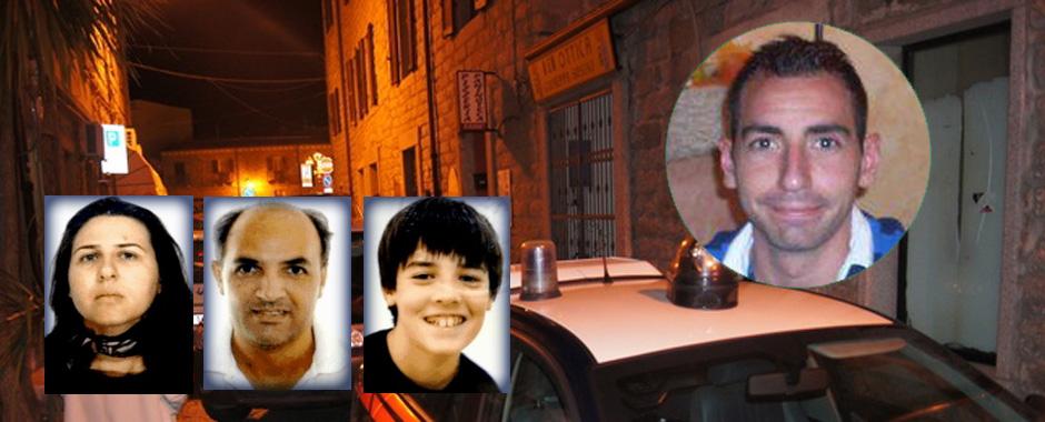 132 - Strage Gallura: arrestato il presunto autore della strage. (132)