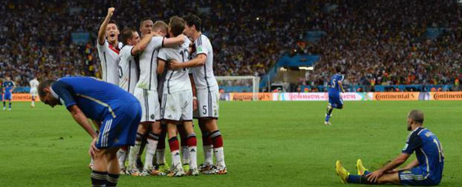 138 - La Germania alza la quarta coppa del mondo. (138)