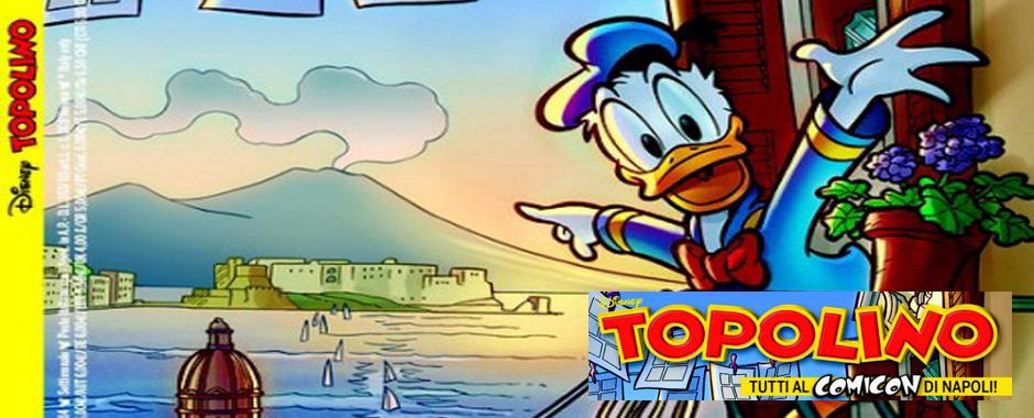 93 - Topolino dedica la copertina al Comicon che si terrà a Napoli. (93)