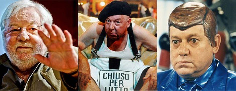 """rid220 - E' morto Paolo Villaggio, l'indimenticabile """"Fantozzi"""" (rid220)"""